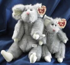 A80 TY Attic Treasures Squeaky & Colby mouse and rat duo