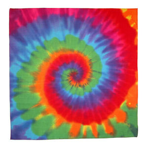 New MTL Rainbow Tie Dye Bandana
