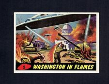 1962 Bubbles Inc. Mars Attack #5 Washington in Flames EXMT