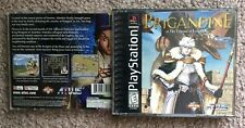 Please Read Only Empty Case Brigandine: Legend of Forsena (PlayStation 1, PS1)