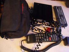 Vintage TECHNOPHONE MC905A BAG CELL PHONE Antenna & Case