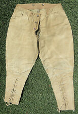 Super Rare Antique Guiterman Bros Mens Pants Summit Dri-Bak Rainproof circa 1912