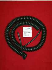 *** 3 CORE x 1.5sqmm COILED PVC CABLE. 1m COIL LENGTH ***