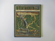 FORTUNE Magazine August 1934 Volume X Number 2 - Ernest Hamlin Baker Cover