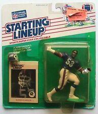 1988 ROOKIE STARTING LINEUP - SLU - NFL - HARRY CARSON - NEW YORK GIANTS