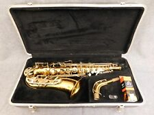 CONN ALTO SAX IN-LAYED KEYS PRIMO P3 MOUTHPIECE KIT HARD CASE