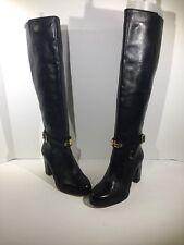 Michael Michael Kors Arley Riding Boot Womens Size 6 Tall Black Boots Z7-18