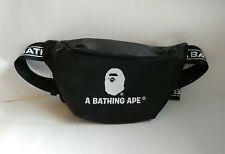 NEW A Bathing Ape Bape LOGO Sacoche Cross-body Waist Bag from Japan Magazine