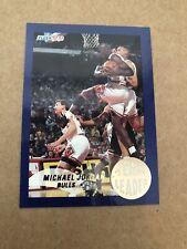 1992-93 Fleer Michael Jordan (HOF) Team Leaders #4
