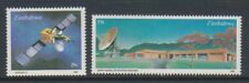 Zimbabwe - 1985, Earth Satellite Station, Space set - MNH - SG 657/8