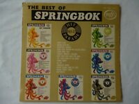 Best of Springbok 1972 LP Rare LP South Africa Pressing-- Superb Condition!