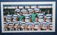 Queens Park Rangers     Superb  Original Vintage Colour 1971 Team Photo Card