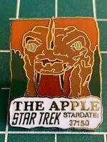 "STAR TREK ""The Apple"" Episode(1992)Cloisonne Pin-back pin."