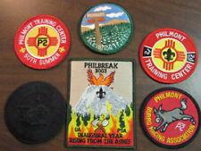 Philmont Scout Ranch & Training Center Souvenir Patches, Lot of 6        c4