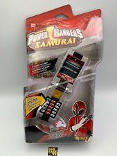 Power Rangers Samurai Red Morpher With Sounds Role Play Flip Phone Samuraizer