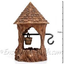New Vivid Arts Miniature World -Woodland Well /Fairy Tree Stump Wishing Well