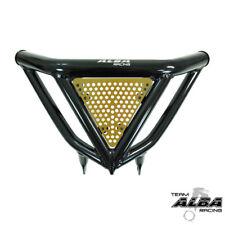 TRX 450R 400EX Intimidator  Front Bumper BLK & Gold Screens  Alba Racing  N3 BD