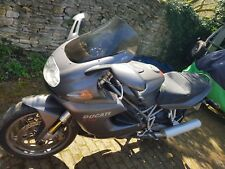 2002 Ducati ST4S in Senna Grey - 12 months MoT, extras! Absolute bargain!