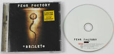 FEAR FACTORY Obsolete CD album Ltd ENH Eur 1998 Roadrunner (Disc EX+)