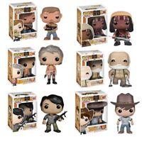 Walking Dead CARL DARYL MICHONNE CAROL HERSHEL NEGAN Action Figure Keyring a F01