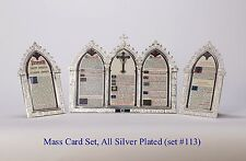 + Set of Latin Mass Cards + Altar Cards + Altar Cannons + Chalice co. + (#113S)