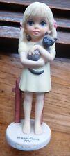 "1975 Margaret Keane ""My Kitty""  figurine by Dave Grossman Designs~1976"