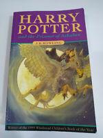 Harry Potter And The Prisoner of Azkaban LIBRO 1999 Bloomsbury 317 Pgs Ingles