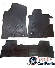 TOYOTA LANDCRUISER 200 SERIES RUBBER MATS FRONT & REAR SET 2012-2016 NEW GENUINE