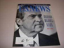 U.S. NEWS & WORLD REPORT, May 2, 1994, DEATH OF RICHARD NIXON HIS LIFE IN PHOTOS