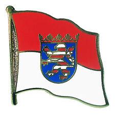 Flaggen Pin Hessen ca. 20 mm  Anstecknadel Anstecker  Fahnenpin
