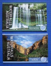 Australia (2930, 2931) 2008 Waterfalls Mnh Prestige Booklet set