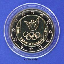 Belgien 2016 2 Euro Olympische Spiele Rio de Janeiro aus Kursmünzensatz KMS