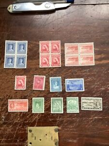 Collection Of Mint Newfoundland Stamps. Vfc.