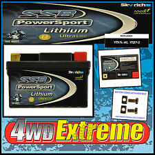 LITHIUM ION LFPZ7-S MOTORCYCLE BATTERY YTX5LBS ,YTZ7S ULTALITE WR450 WR250