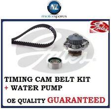 FOR FIAT PUNTO 188 MK2 1.2 8v 1999-2003 GATES TIMING CAM BELT KIT +  WATER PUMP