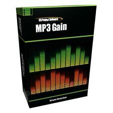 Mp3 Gain Increase Volume Music Editing Software PC Mac