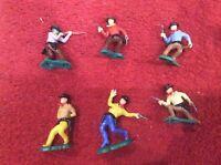 Vintage Foot Cowboys, Ellem models collection Cherilea Toys LTD, RARE