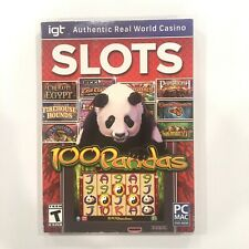 SLOTS IGT Authentic Real World Casino PC MAC DVD-ROM NEW