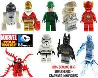Genuine LEGO DC Marvel Super Heroes & Star Wars Minifigures - Split From Sets