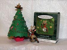Hallmark Christmas Bells 6Th in the Series Reindeer Bell Miniature Ornament
