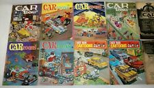 8 Vintage (1964-1967) Cartoons Hot Rod Cartoons Magazines Comic Books + 2 Free