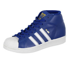 ADIDAS Youth Pro Model Mid Top Shoes sz 4.5Y Royal Blue White Kids 4.5 BY3731