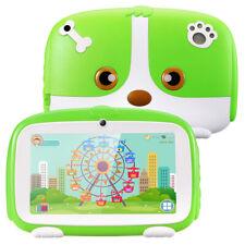 7Inch Tablet PC Android Quad Core 1/16GB HD WIFI Dual Camera Kids Bundle Estuche