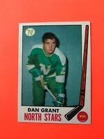 Dan Grant 1969-70 O-Pee-Chee OPC Hockey Card #125  See Photos WITH STAMP