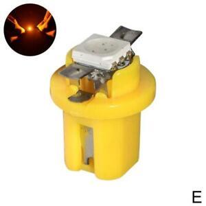 10Pcs T5 B8 5050 1SMD Led Lamp Car Indicator Dash Bulb Instrument Lights