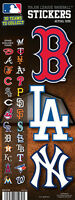 3 Pack of Officially Licensed MLB Logo Stickers - Pick Your Favorite Team!