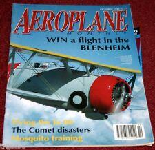 Aeroplane Monthly 1993 October Schneider,Tangmere,Horsley,Hermes,Comet,Odiham
