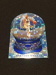 2020-21 Panini Crown Royale Sno Globe Blue /75 Stephen Curry Warriors Mint