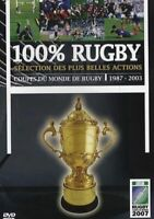 DVD  100% RUGBY NEUF SOUS BLISTER