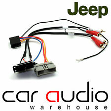 Jeep Wrangler 93-05 Car Stereo Amplified Active Speaker Adaptor Lead